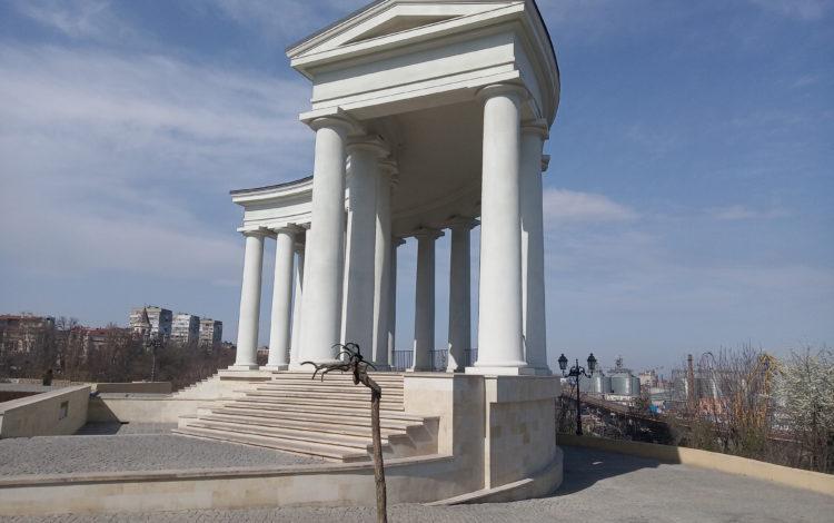 Belveder of Vorontsov's palace, Vorontsovsky lane, Odessa, Ukraine