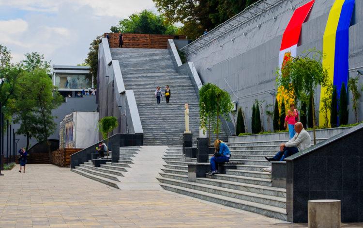 Greek park, Prymorskyi boulevard, Odessa, Ukraine